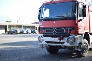H πυροσβεστική υπηρεσία αγρινίου στο ΕΠΑΛ Μακρυνείας